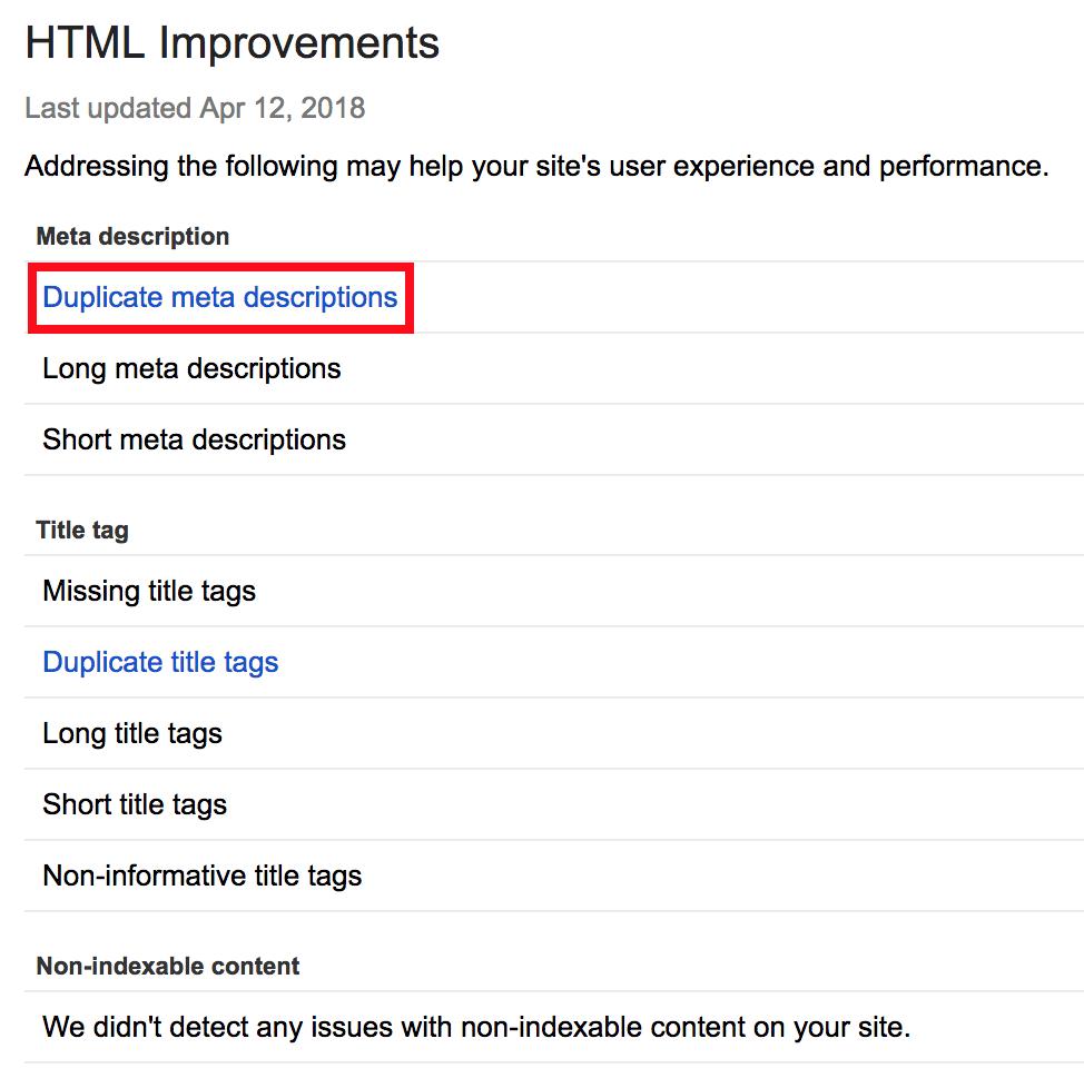 google-search-console-duplicate-meta