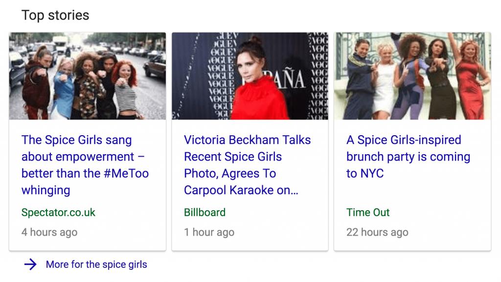 top stories seo sebagai bagian dari 200 faktor google ranking
