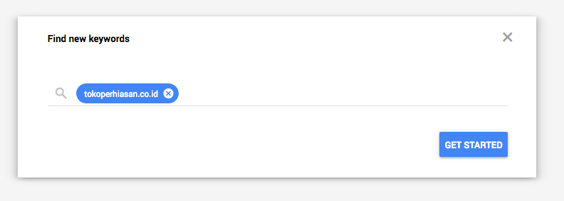 Search URL Find New Keywords