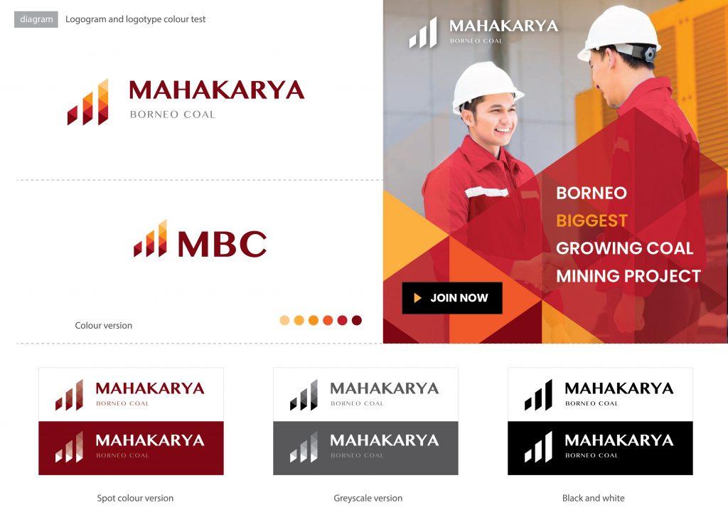 cara presentasi logo design surabaya