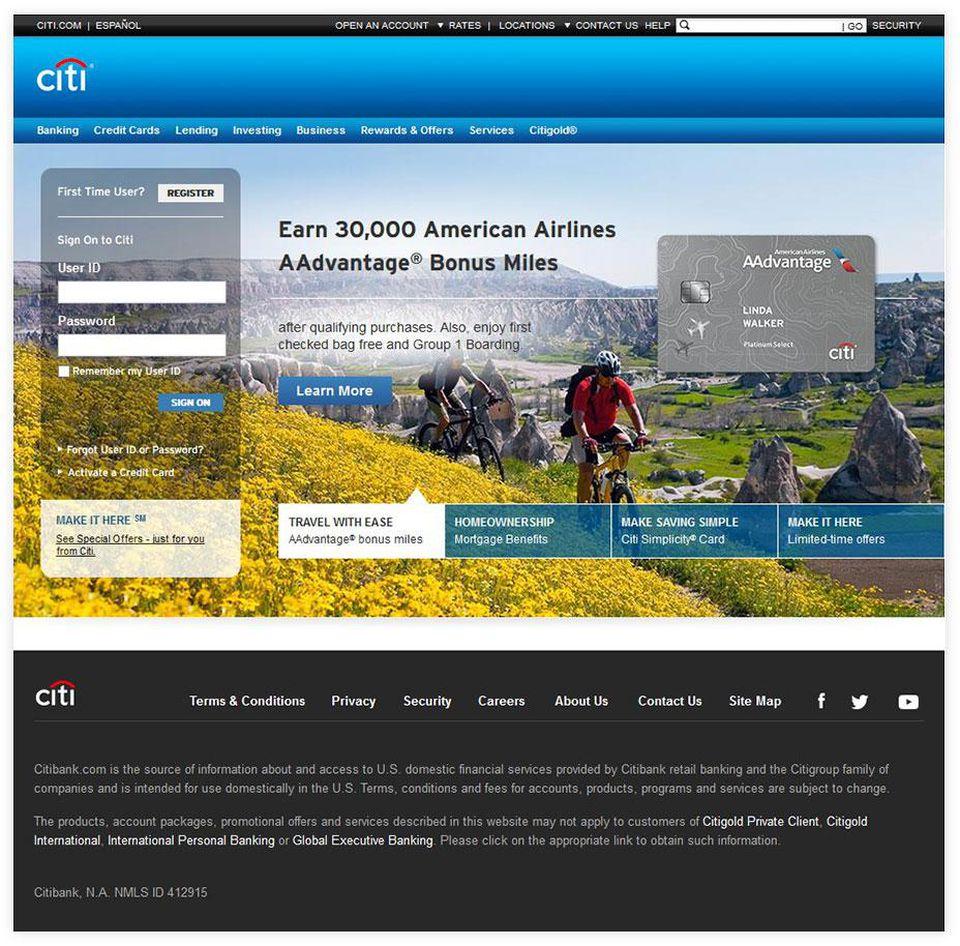 contoh website design update