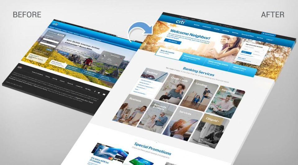 studi kasus website design update