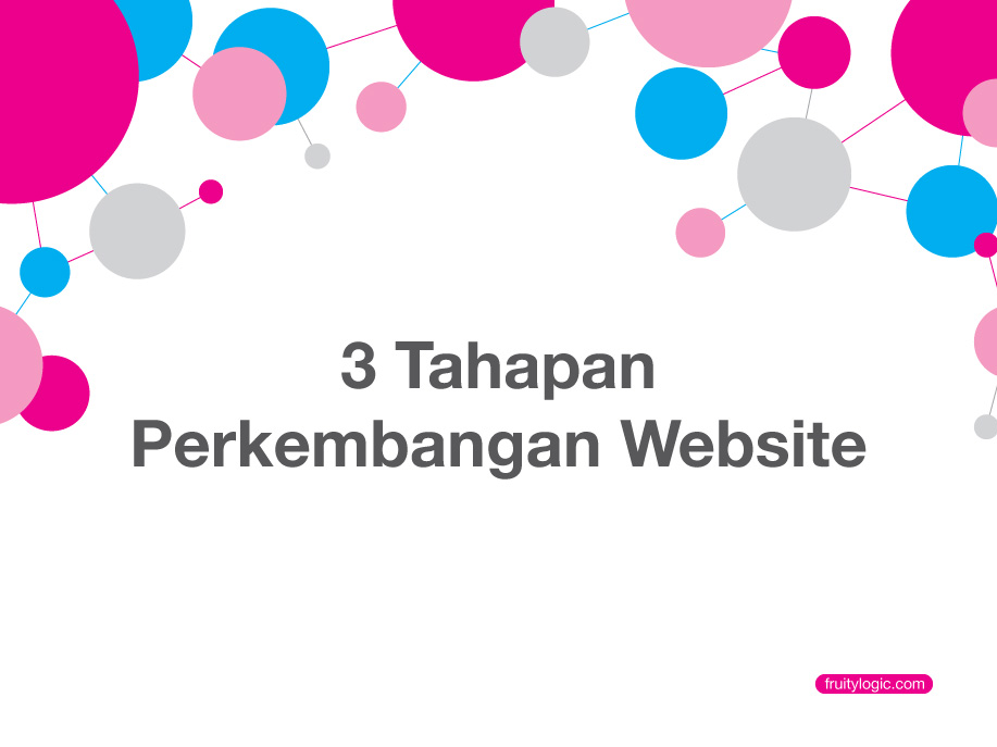3 Tahap Perkembangan Website
