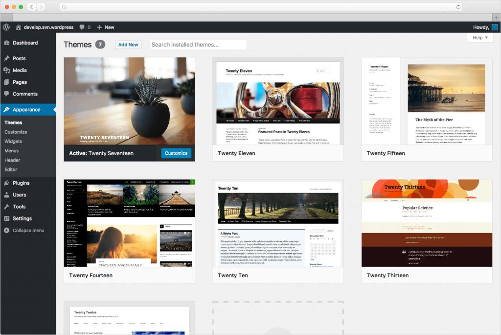 Software Online WordPress