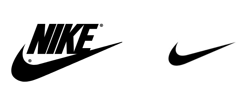 contoh brandmark nike