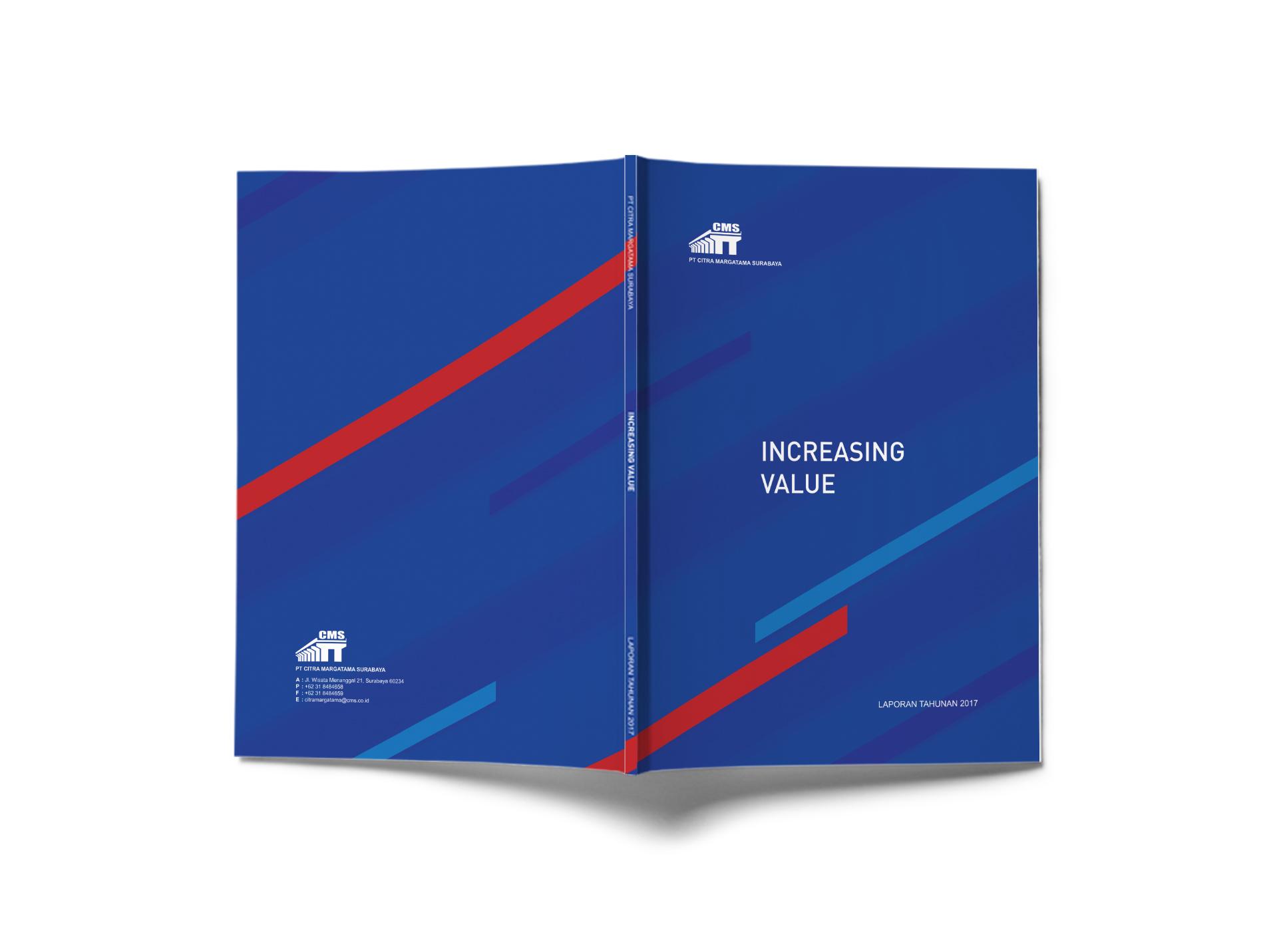 annual report design pt citra margatama surabaya jakarta