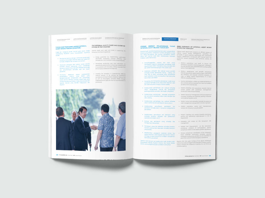 buku laporan tahunan
