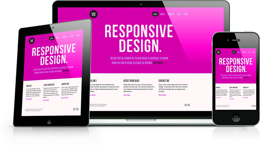 responsive website surabaya design